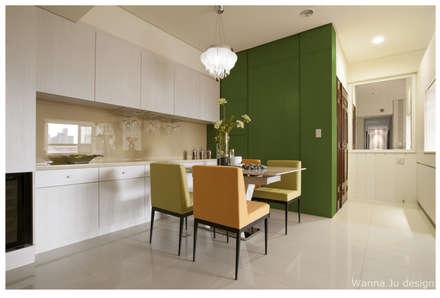 ห้องทานข้าว by 北歐制作室內設計
