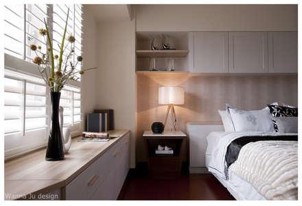 Dormitorios de estilo rural por 北歐制作室內設計