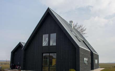 منزل خشبي تنفيذ Nico Dekker Ontwerp & Bouwkunde