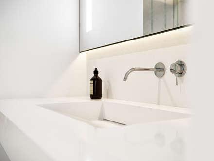 BACHELOR: Salle de bains de style  par Vica Riviera
