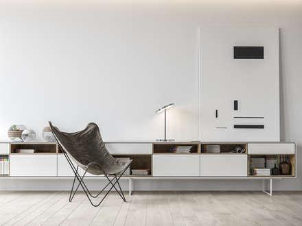 BACHELOR: Bureau de style de style Minimaliste par Vica Riviera