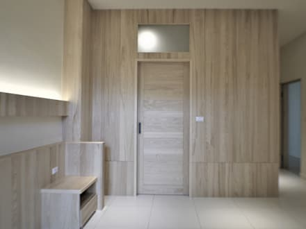 scandinavian Dressing room by 喬克諾空間設計