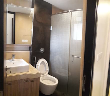 thane project: modern Bathroom by Rennovate Home Solutions pvt ltd