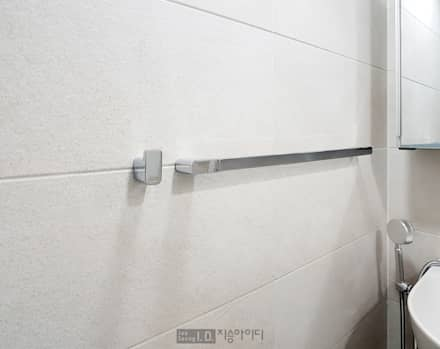 미니멀, 트렌디하게 향촌현대 4차아파트 32평: 지승아이디의  화장실