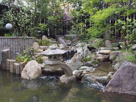 庭院池塘 by 空間工房 欅