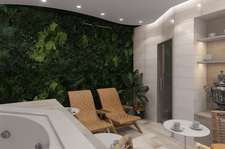 Spa de estilo tropical de design4y