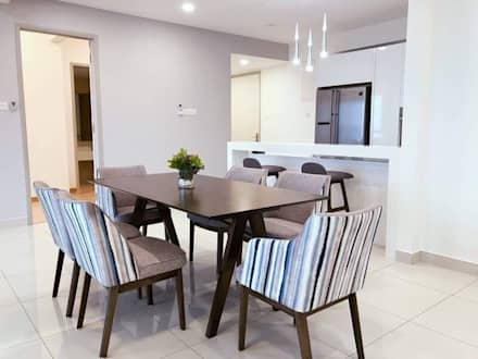 Jazz Suites (furniture): modern Dining room by Skilled Decor & Design