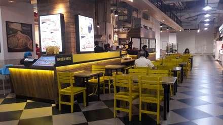 sitting area view-1:  Restoran by Cendana Living