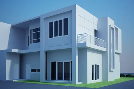 day view-2:  Rumah by Cendana Living