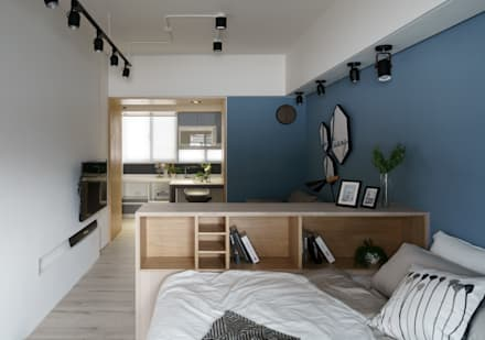 scandinavian Bedroom by Moooi Design 驀翊設計