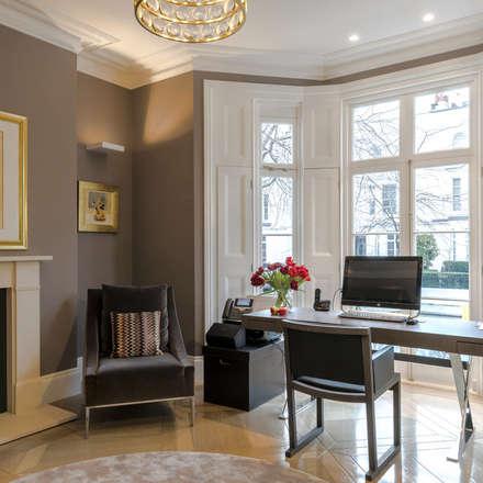 Formal study: classic Study/office by Studio 29 Architects ltd