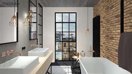 Phòng tắm by MODULO Pracownia architektury wnętrz