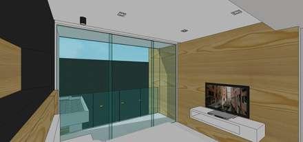 Casa en Barinas: Cuartos de estilo escandinavo por MARATEA Estudio