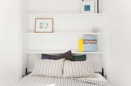 rustic Bedroom by Triangle Studio