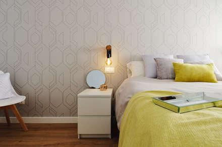 Dormitorio principal: Dormitorios infantiles de estilo escandinavo de Noelia Villalba