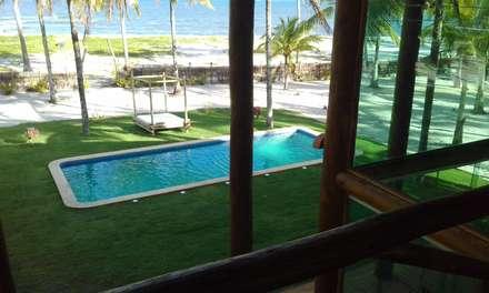 Piscinas de jardín de estilo  por Arquitetura & Design - Marcela Tavares