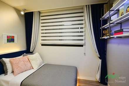 부산 분양 모델하우스 세팅, 클래식 스타일 - 노마드디자인: 노마드디자인 / Nomad design의  어린이용 침실