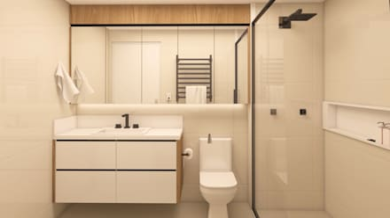 حمام تنفيذ Drömma Arquitetura