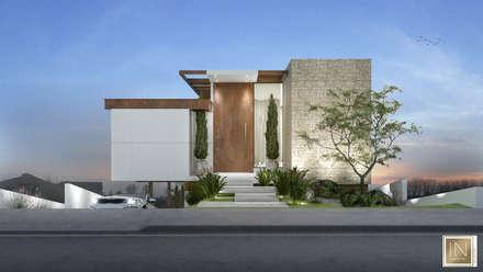 منزل عائلي صغير تنفيذ Isabela Notaro Arquitetura e Interiores