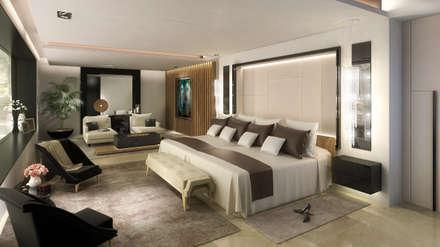 Dormitorio Principal: Dormitorios de estilo moderno por MADBA design & architecture