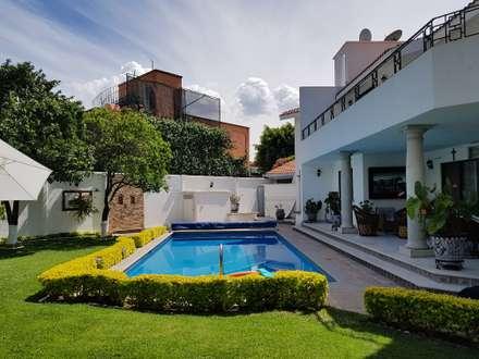 Garden Pool by Elementos Diseño & Arquitectura