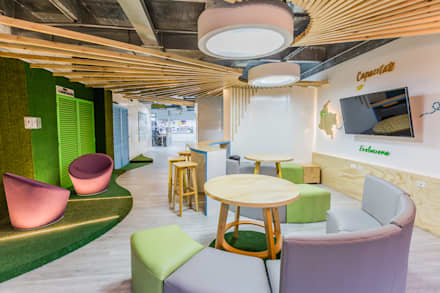 Te diviertes trabajando : Oficinas y Tiendas de estilo  por Aluzina
