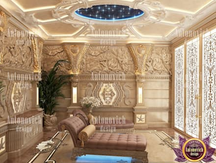 asian Spa by Luxury Antonovich Design