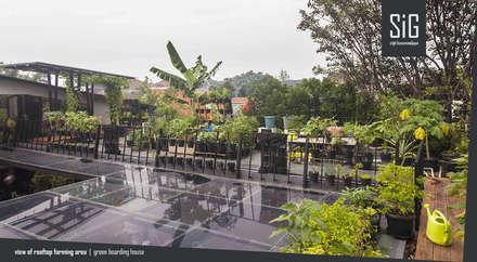 Garden Shed by sigit.kusumawijaya | architect & urbandesigner