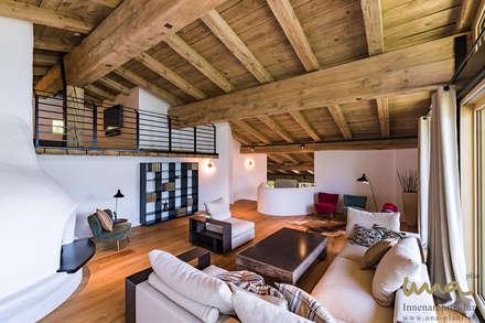 Wohnen Am See | Wohnzimmer: Landhausstil Wohnzimmer Von UNA Plant