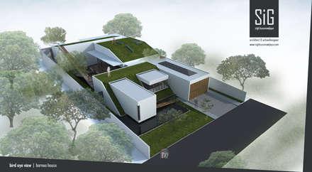 Borneo House:  Rumah tinggal  by sigit.kusumawijaya | architect & urbandesigner