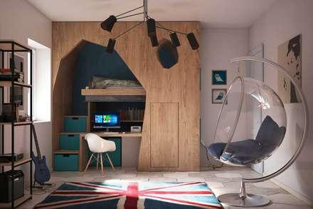 scandinavian Bedroom by Alfredo Pulcrano