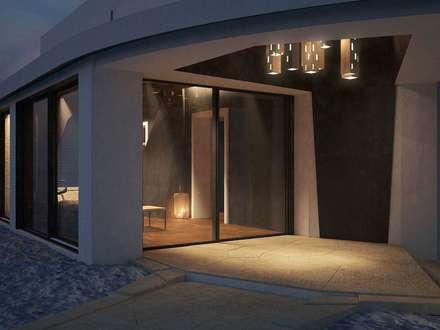 Giardino D'inverno e ristrutturazione: Ingresso & Corridoio in stile  di Alfredo Pulcrano