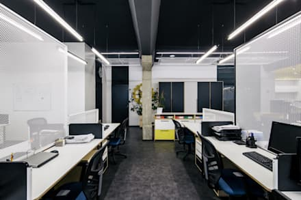 Интерьер офиса компании Star Light Scenery: Офисные помещения в . Автор – Star Light Scenery