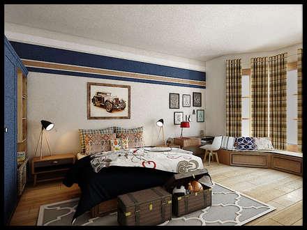 غرفة نوم مراهقين  تنفيذ VaDsign