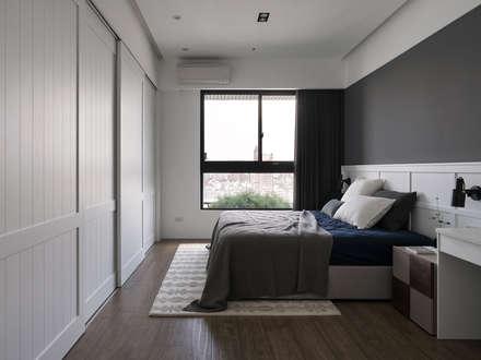 moderne Schlafzimmer von Fertility Design 豐聚空間設計