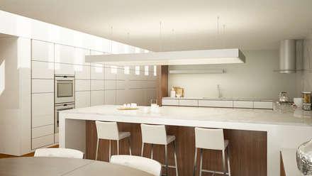Muebles de cocinas de estilo  por EsboçoSigma, Lda