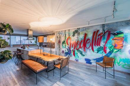 COCINA : Cocinas integrales de estilo  por Aluzina