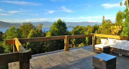Terraza: Hoteles de estilo  por Aedo Arquitectos & Design