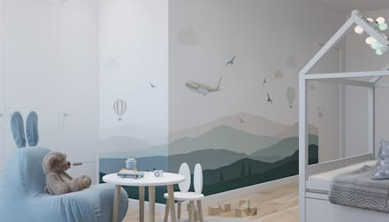 Baby room by OM DESIGN