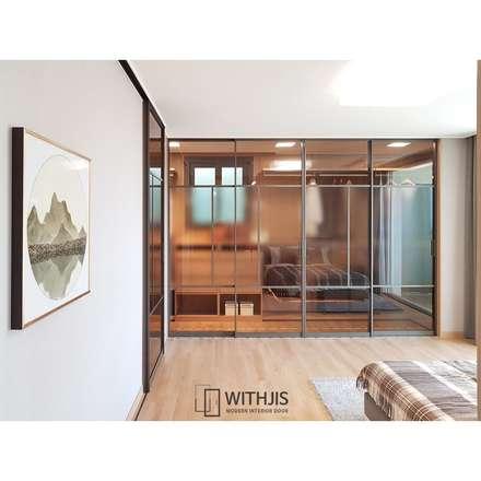 슬림 슬라이딩 도어: WITHJIS INC.의  문