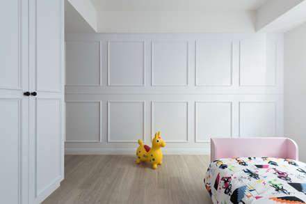 光合作用:  嬰兒/兒童房 by 知域設計