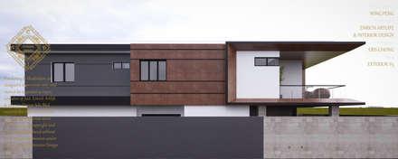 Bungalow Design -Yong Peng Johor Bahru,Malaysia: modern Houses by Enrich Artlife & Interior Design Sdn Bhd
