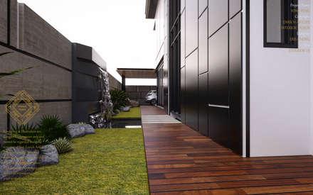 Bungalow Design -Yong Peng Johor Bahru,Malaysia: modern Garden by Enrich Artlife & Interior Design Sdn Bhd