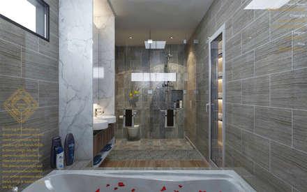 Bungalow Design -Yong Peng Johor Bahru,Malaysia: modern Bathroom by Enrich Artlife & Interior Design Sdn Bhd