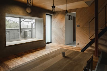 shimotoyama-house-renovation: ALTS DESIGN OFFICEが手掛けたダイニングです。