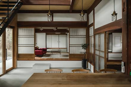 shimotoyama-house-renovation: ALTS DESIGN OFFICEが手掛けたリビングです。