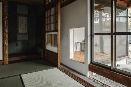 Studio in stile in stile Asiatico di ALTS DESIGN OFFICE