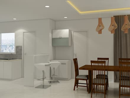 moderne Esszimmer von Rhythm  And Emphasis Design Studio