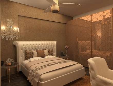 klassische Schlafzimmer von Rhythm  And Emphasis Design Studio