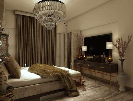 moderne Schlafzimmer von Rhythm  And Emphasis Design Studio